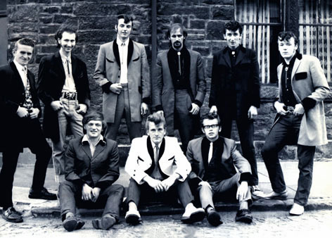 Teddy Boys in England in the 50's